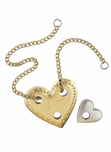 Eureka Cast Puzzle Heart-Eureka